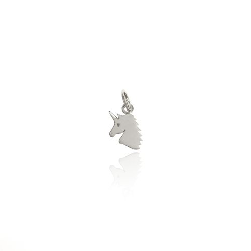 Unicorn Head Charm