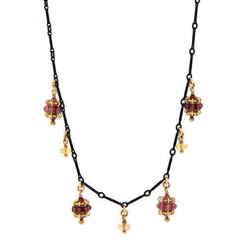 Mini Cluster Charm Necklace