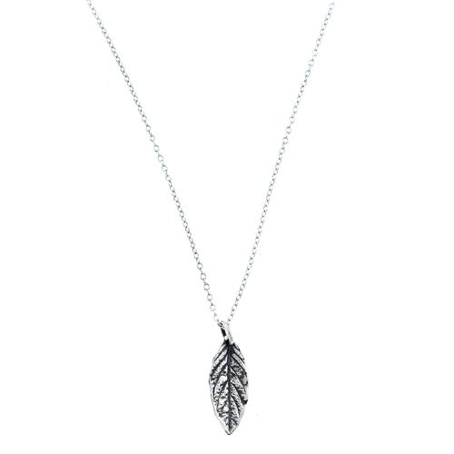 Mint Leaf Necklace