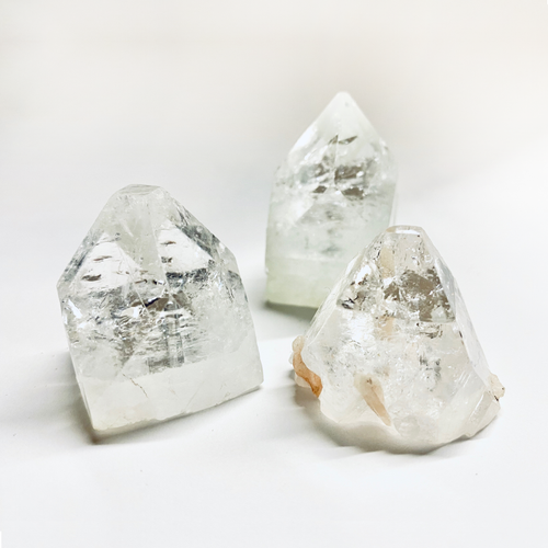 Wide Crystal Quartz Points