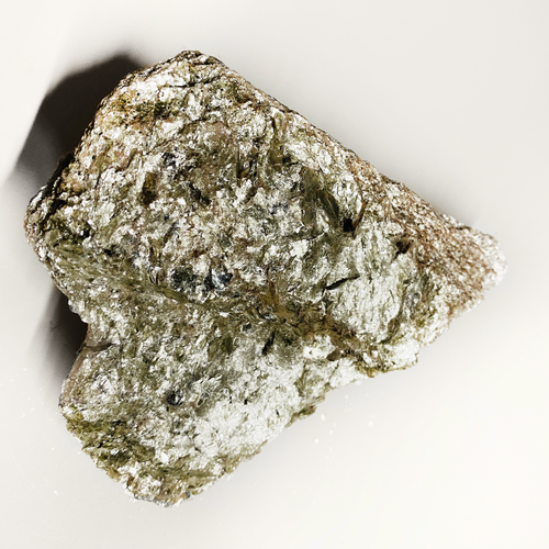 Heart Shaped Garnet-Muscovite Schist Rock