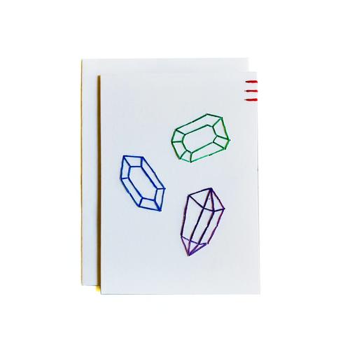 Three Gems Card and Mini Art