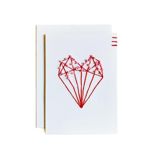 Blooming Heart Card and Mini Art