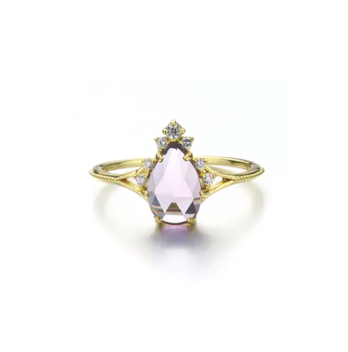 Nirvana Amethyst Ring