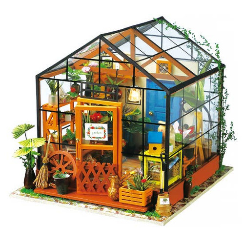 Flower house DIY Miniature Kit