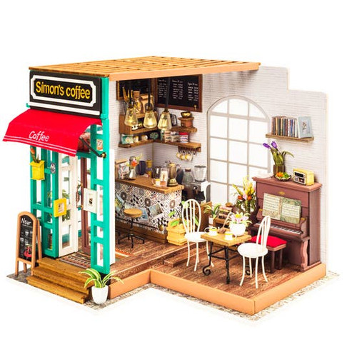Coffee House DIY Miniature Kit