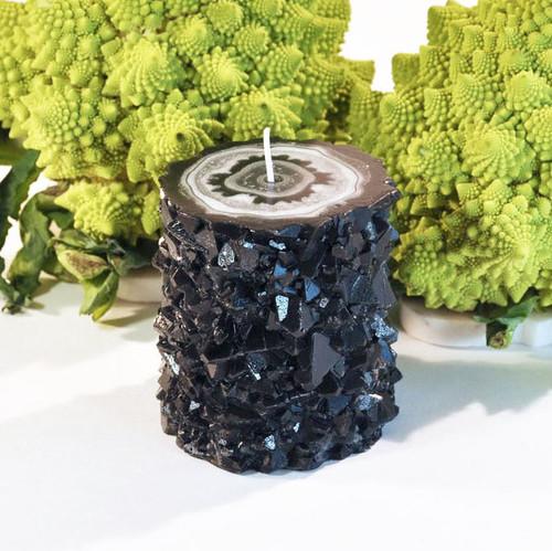 Onyx Crystal Stalactite Candle