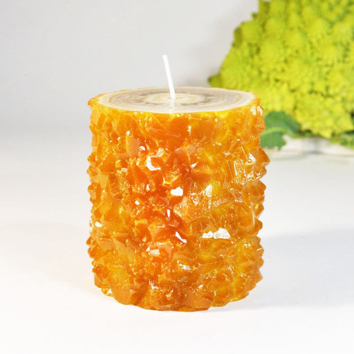 Citrine Crystal Stalactite Candle
