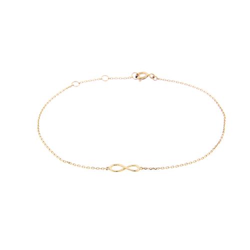14k Infinity Bracelet