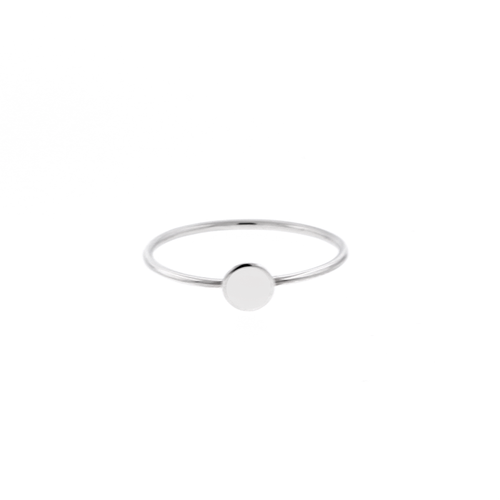 Silver Dot Ring