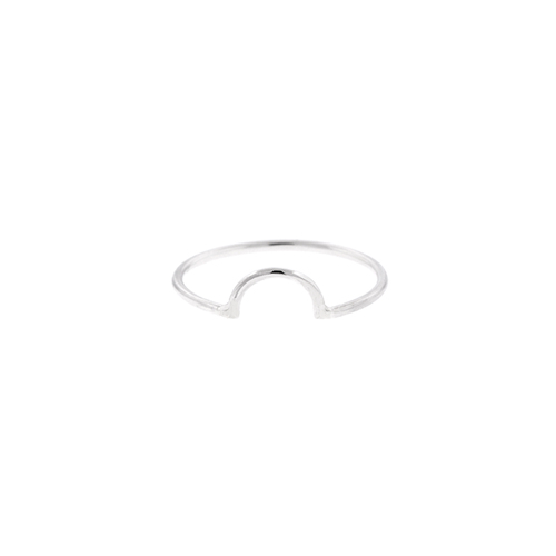 Half Circle Stacking Ring