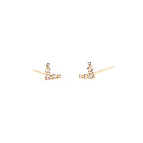 V-shape Diamond Studs