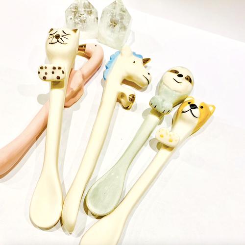 Ceramic  Animal Spoon