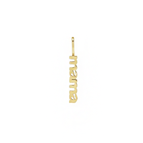 Solid Gold Mama Charm