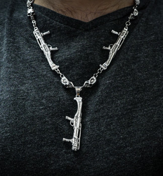 DP-12 & Skull Necklace