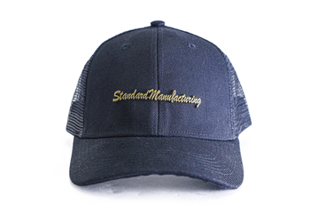Standard Manufacturing Black Trucker Hat