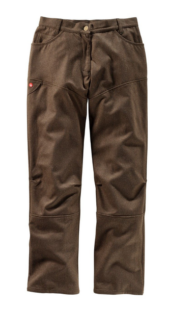 Gaston J. Glock High Quality Ladies Pants for the Hunt in Cloth Loden  in Olive