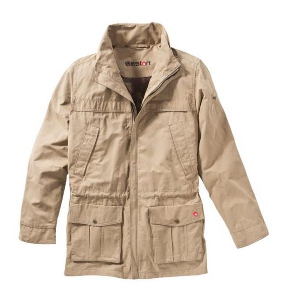 Gaston J. Glock Breezy Hunting Jacket with Camouflage Net Lining