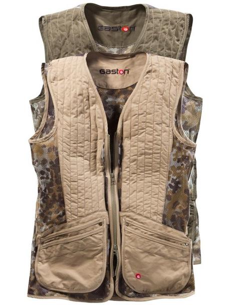 Gaston J. Glock Camouflage Shooting Vest for Hunters
