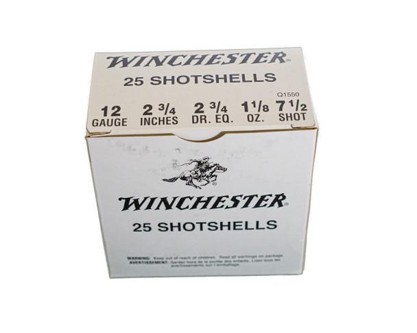 "Winchester USA Shot Shells 12ga (2 3/4"" Shell / 1 1/8 Oz / 7 1/2 Shot) - 25 Pack - $16.54"