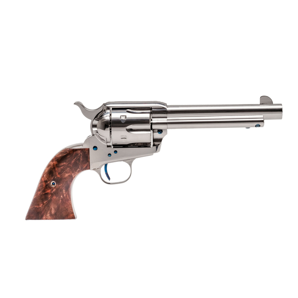 Single Action Revolver Nickel Plated .45 LC
