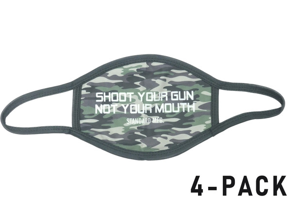 Standard Manufacturing Reusable Face Mask 4-Pack