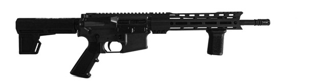 "STD-15B Black 5.56, 12.5"" Barrel."