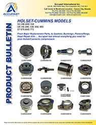 HOLSET-CUMMINS MODELS
