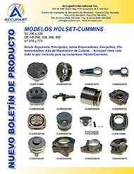 MODELOS HOLSET-CUMMINS