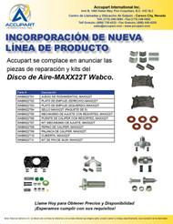 Las  piezas de reparación y kits del Disco de Aire-MAXX22T Wabco.