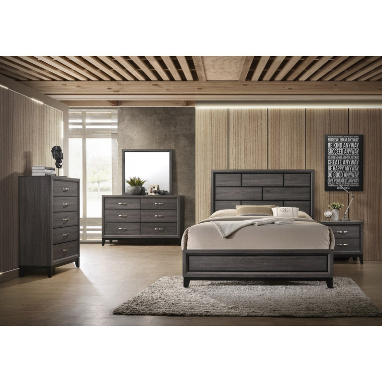 Akerson Bedroom Suite Grey