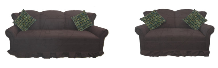Sofa and Loveseat 166