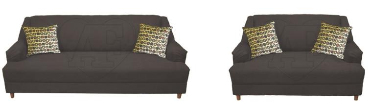 Sofa and Loveseat 127 Microfiber