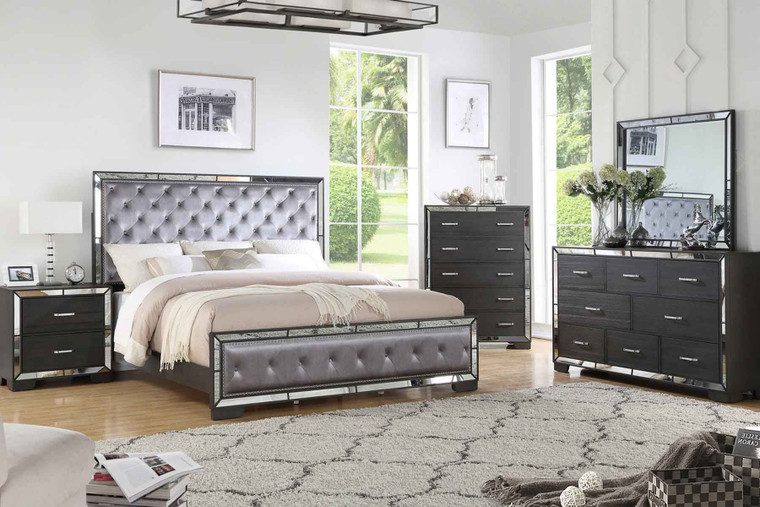 ANZELL BEDROOM SUITE 5PCS