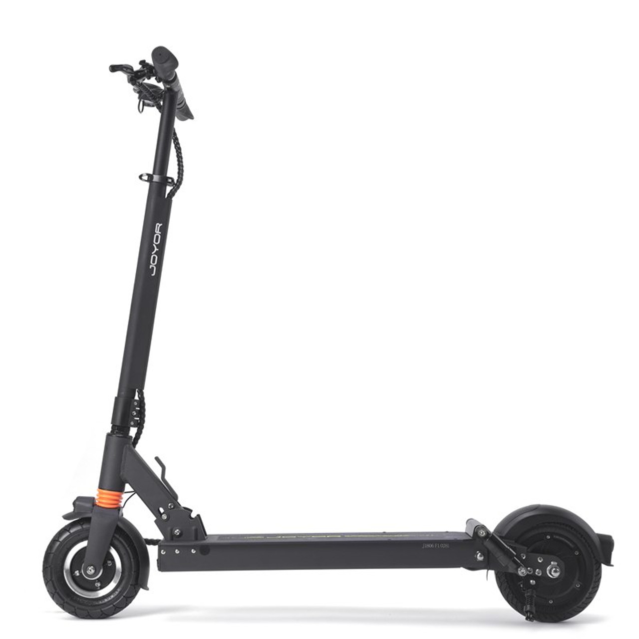 F6 36 9 Miles Long-Range Electric Scooter - Black