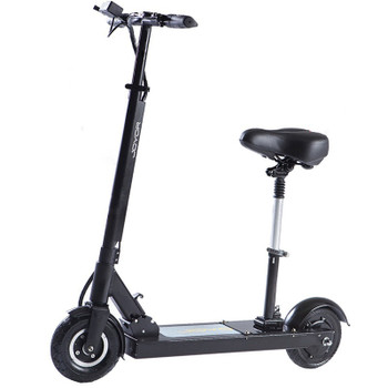F5S 31 Miles Long-Range Electric Scooter - Black