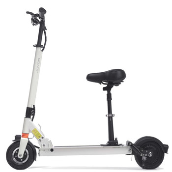 F6S 36.9 Miles Long-Range Electric Scooter - White