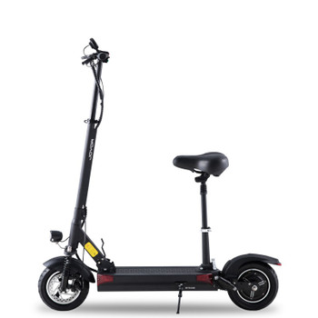 Y6-S 36.9 Miles Long-Range Electric Scooter - Black