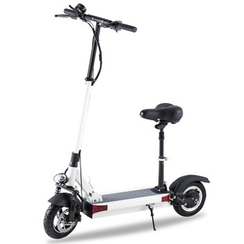 Y6-S 36.9 Miles Long-Range Electric Scooter - White