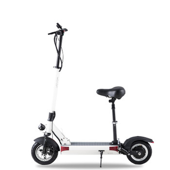 Y7-S 43.5 Miles Long-Range Electric Scooter - White