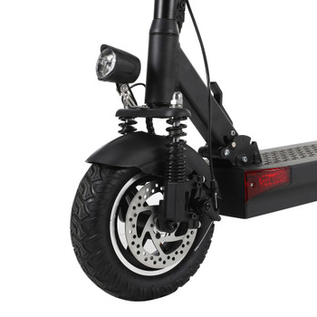 Y9 Plus 59.5 Miles Long-Range Electric Scooter - Black