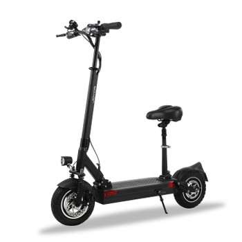 Y9-S Plus 59.5 Miles Long-Range Electric Scooter - Black
