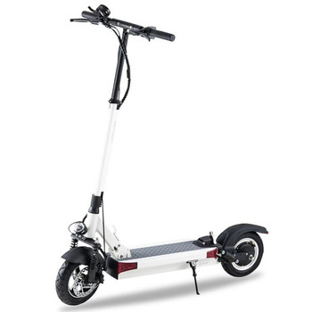 Y9 Plus 59.5 Miles Long-Range Electric Scooter - White