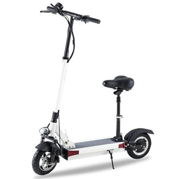 Y9-S 55.9 Miles Long-Range Electric Scooter - White