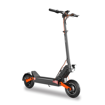Pre sale S8 59.3 Miles Long-Range Electric Scooter With Dual Moter 1200W - Black