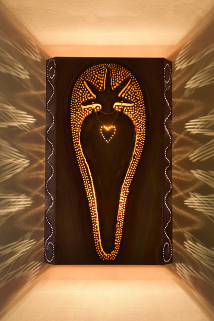 Heart Shaman Wall Sconce Light