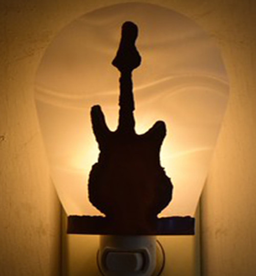 Electric Guitar Night Light