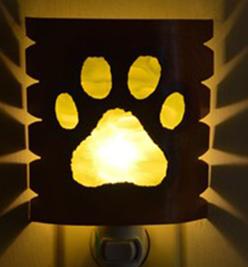 Dog Print Night Light