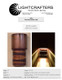 """Spec sheet for 17"""" tall fixture shown in edge burned copper and burnt copper"""