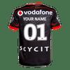 2016 Vodafone Warriors CCC Home Jersey - Womens